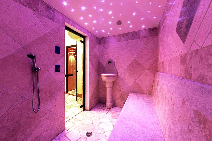 Bagno Turco Bergamo: Cabina doccia con sauna e bagno turco sasha ...
