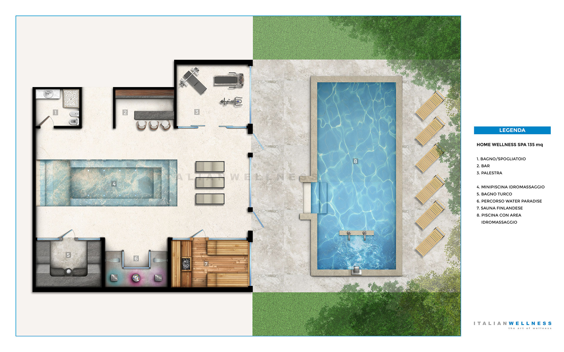 Costruire palestra in casa for Costruire una sauna in casa