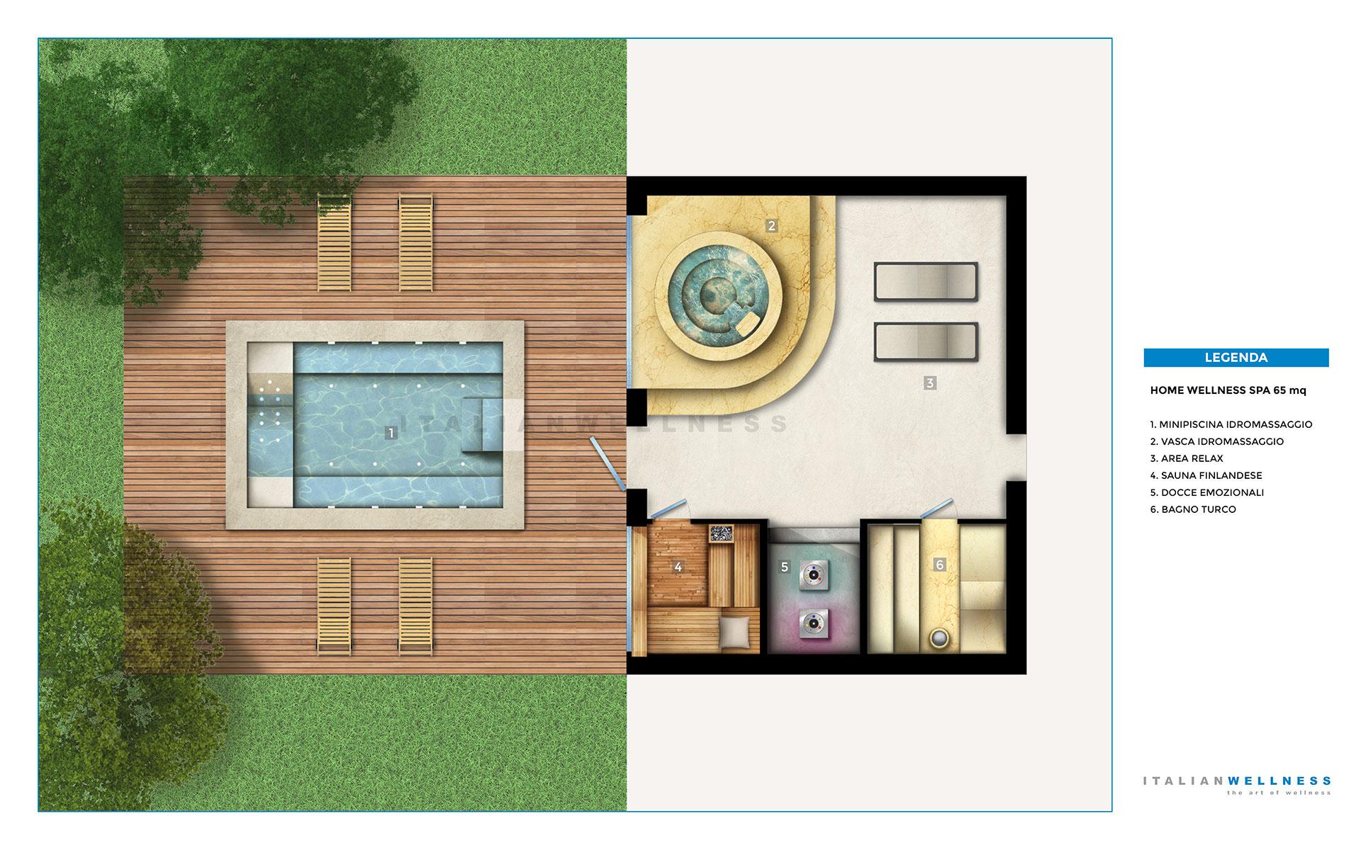 Spa in casa realizza un centro benessere in casa tua