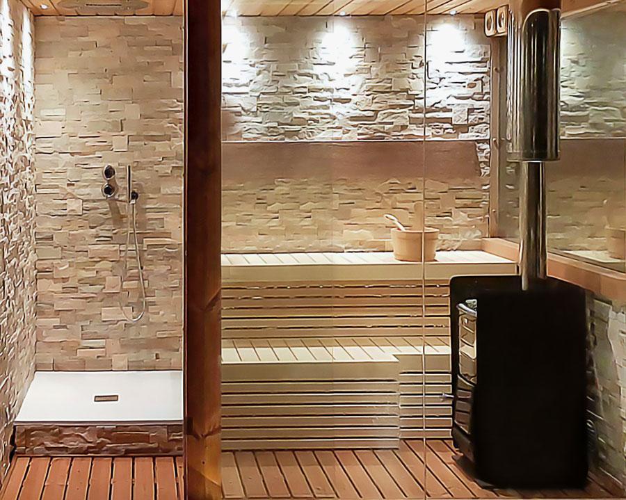Saune su misura sauna per casa italian wellness - Cabine sauna per casa ...