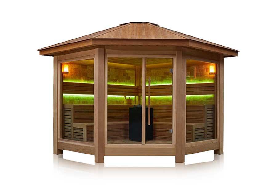 Saune da esterno italian wellness - Sauna da esterno ...