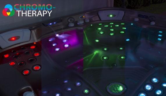 Cromoterapia idromassaggio